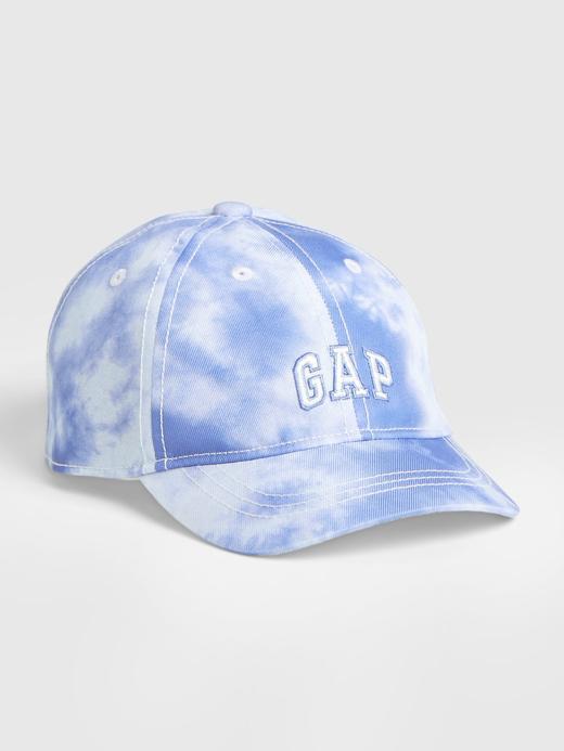 Bebek Mavi Gap Logo Tie-Dye Şapka