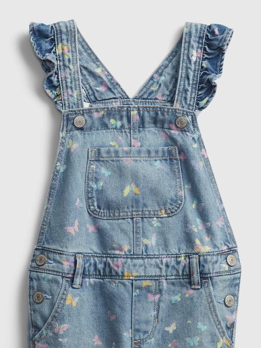 Kız Bebek Mavi Fırfır Detaylı Tulum