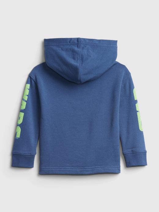 Erkek Bebek Lacivert Star Wars Grafik Desenli Sweatshirt