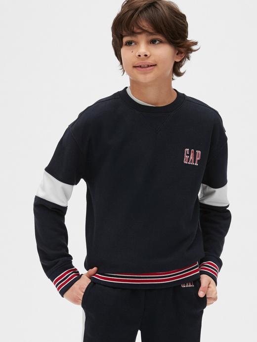 Erkek Çocuk Lacivert Gap Logo Sweatshirt