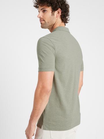 Erkek Haki Core Temp Pique Polo Yaka T-Shirt