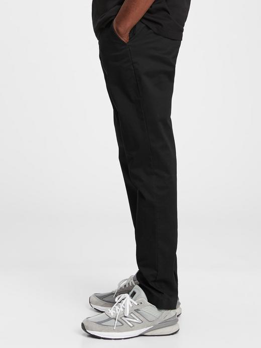 Erkek Gri GapFlex Slim Khaki Pantolon