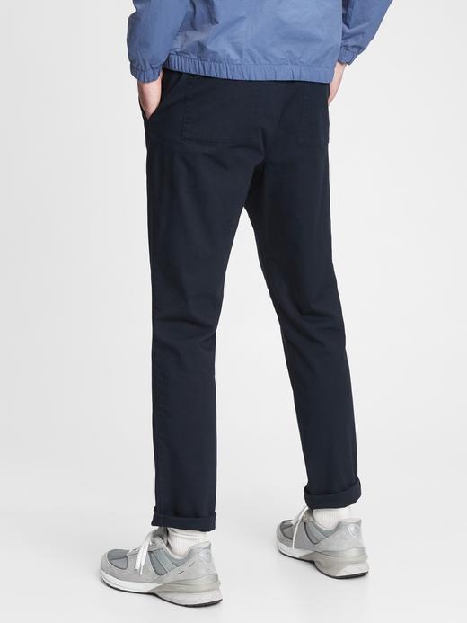Erkek Lacivert GapFlex Slim Easy Pantolon