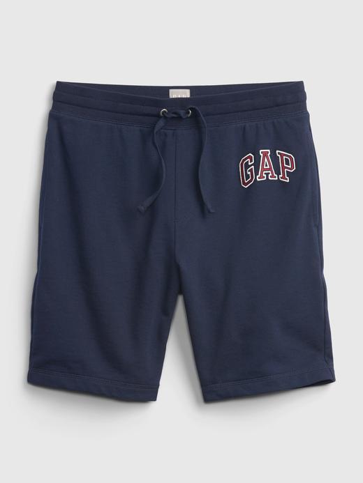 Erkek Mavi Gap Logo Şort