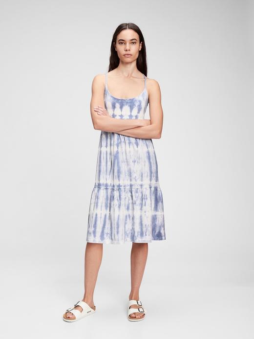 Kadın Mavi Midi  Elbise