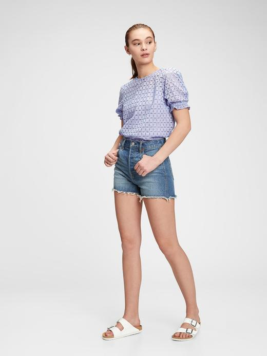 Kadın Lacivert Kısa Kollu T-Shirt