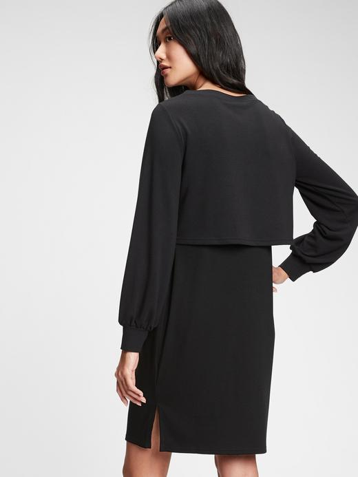 Kadın Siyah Maternity  Nursing  Elbise