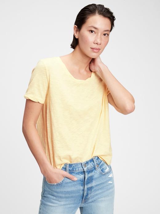Kadın Turuncu Good T-Shirt