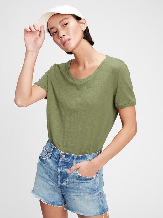 Kadın Yeşil Good T-Shirt