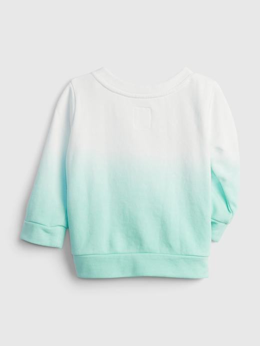 Kız Bebek Mavi Gap Logo Sweatshirt