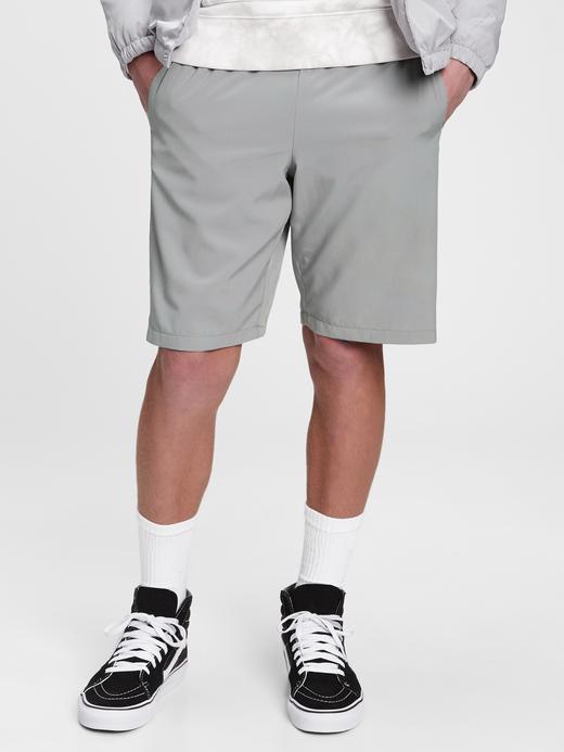 Erkek Çocuk Gri Pull-On Şort