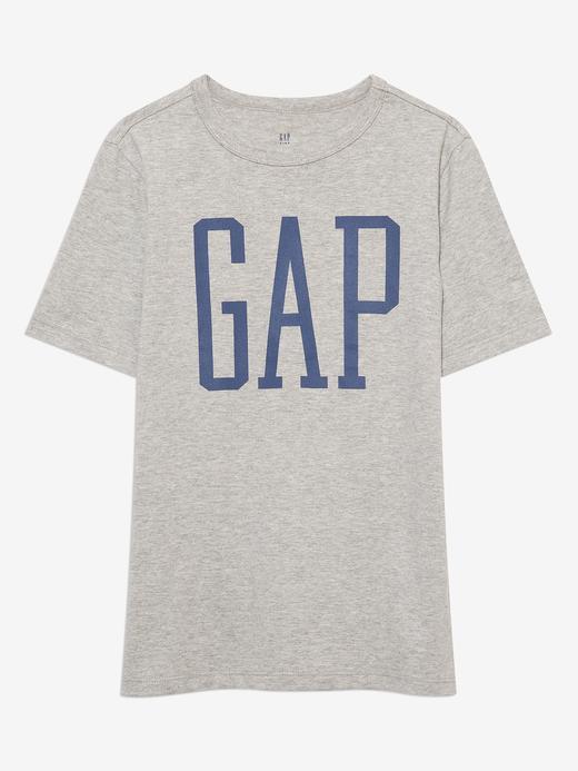 Erkek Çocuk Gri Grafik Desenli T-Shirt