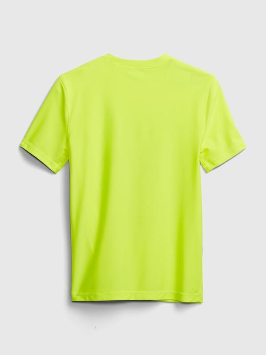 Erkek Çocuk Sarı Kids Geridönüştürülmüş Baskılı T-Shirt