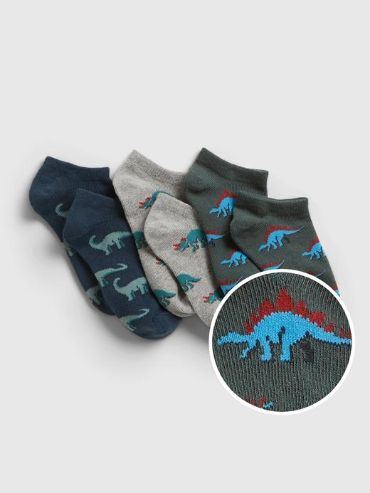 Erkek Çocuk Çok Renkli 3'lü Çorap Seti