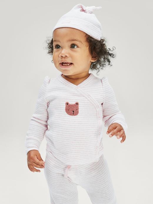 Erkek Bebek Pembe First Favorite Üst ve Alt Takım