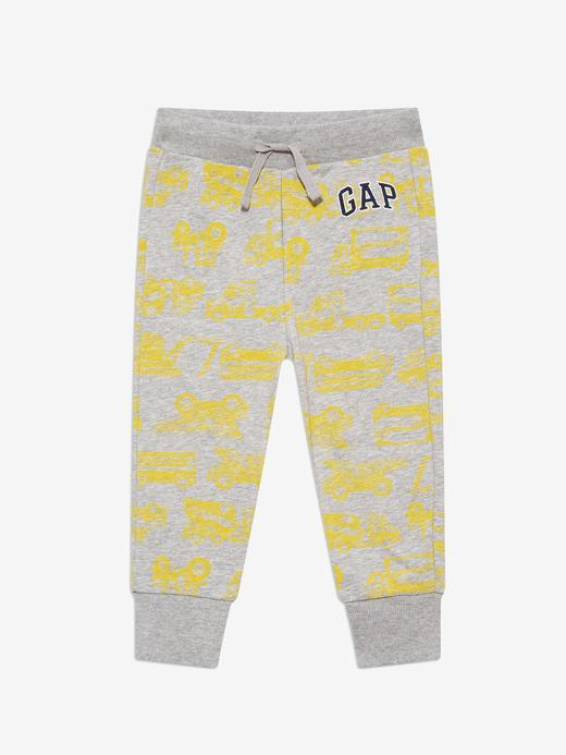 Erkek Bebek Gri Gap Logo Pull-On Eşofman Altı