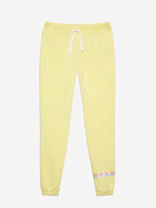 Kız Çocuk Sarı Pull-On Eşofman Altı