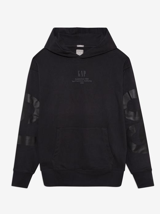 Erkek Siyah Gap Logo Sweatshirt