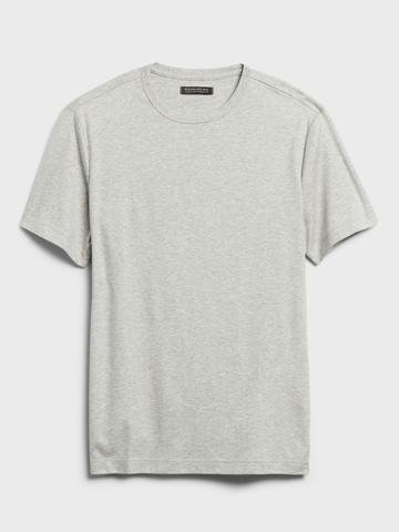 Erkek Siyah Luxury Touch Performance T-Shirt