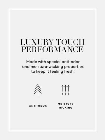 Erkek Yeşil Luxury Touch Performance T-Shirt