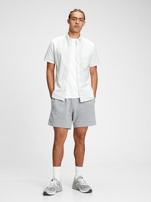 Erkek Beyaz Oxford Gömlek