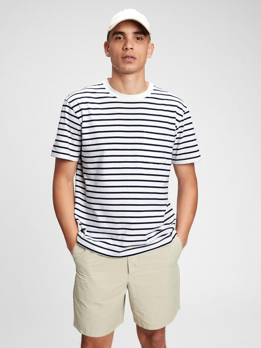 Erkek Beyaz Organik Pamuk  Grafik Desenli T-Shirt