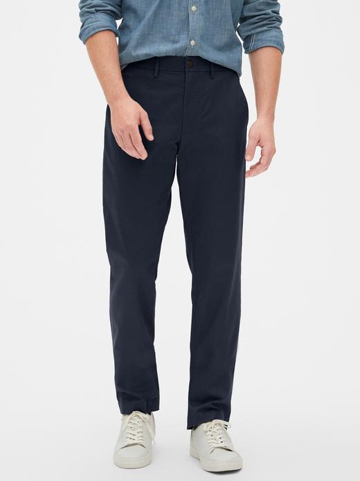 Erkek Lacivert GapFlex Straight Fit Pantolon