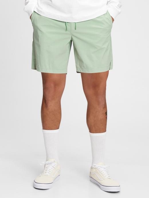 Erkek Yeşil Deniz Şort