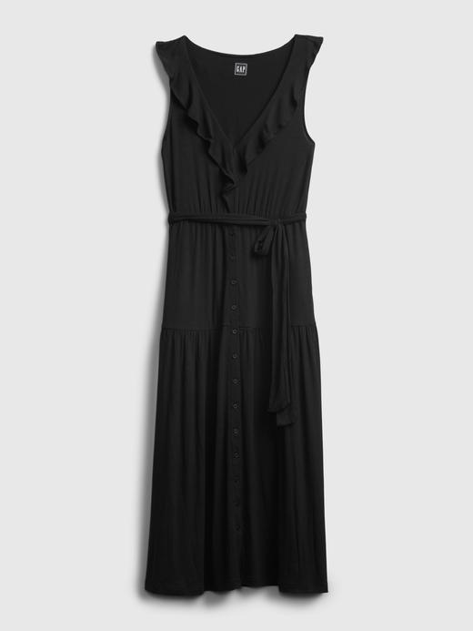Kadın Mor Midi Elbise