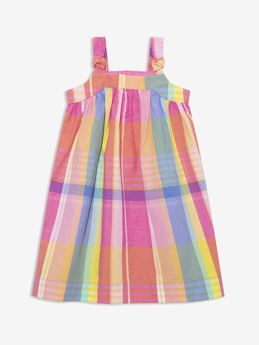 Kız Bebek Pembe Askılı Elbise