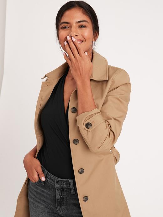 Kadın siyah Threadsoft Kruvaze Bluz