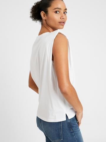 Kadın Beyaz SUPIMA® Bluz