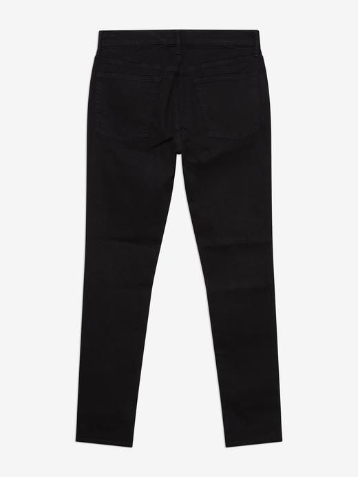 Erkek Siyah Super Skinny Jean Pantolon