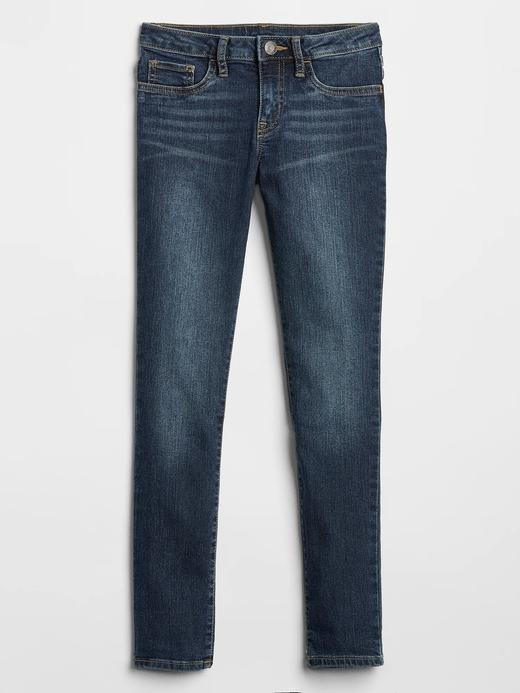 Kız Çocuk Mavi Super Skinny Fit Jean Pantolon Washwell™