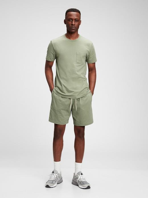 Erkek Yeşil Organik Pamuklu T-Shirt
