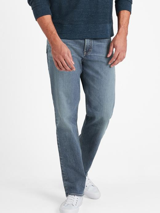 Erkek Mavi Dry Indigo® Slim Traveler Jean Pantolon