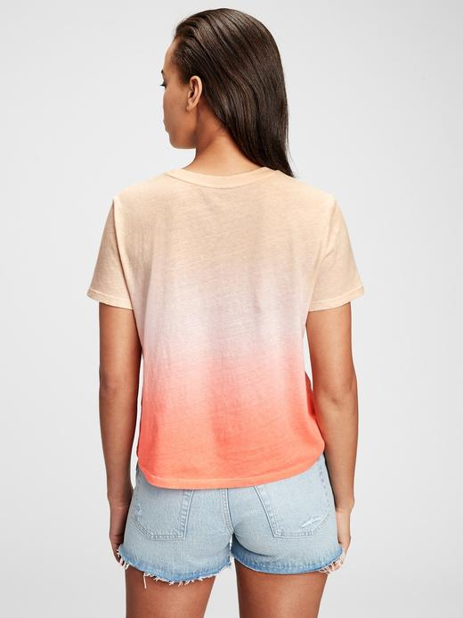 Kadın Çok Renkli Gap Logo  T-Shirt
