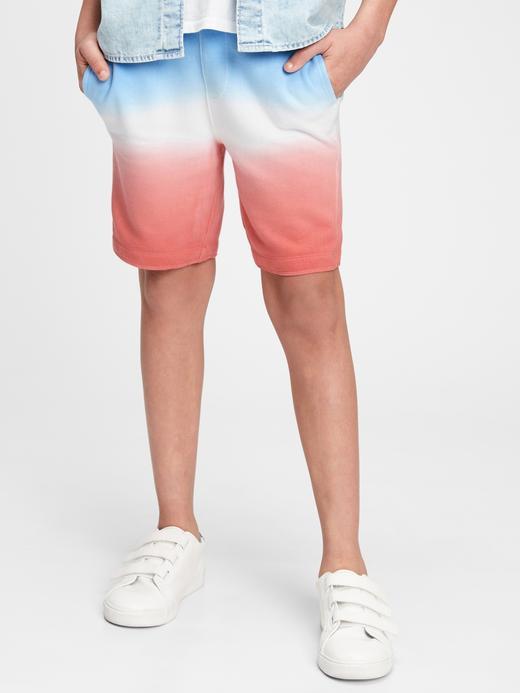 Erkek Çocuk Çok Renkli Logo Şort