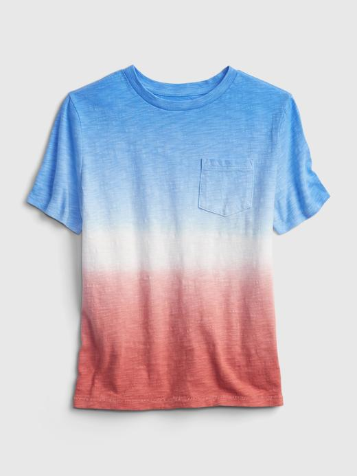 Erkek Çocuk Mavi Cepli T-Shirt