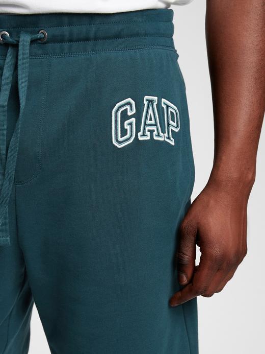 Erkek Yeşil Gap Logo Şort