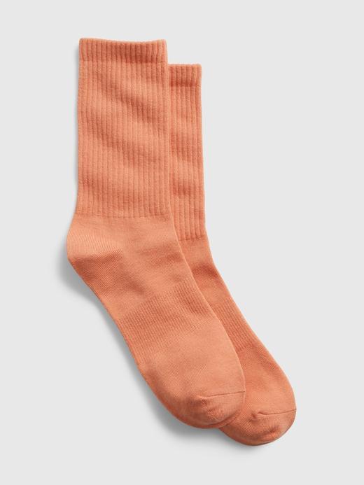 Erkek Turuncu Athletic Çorap