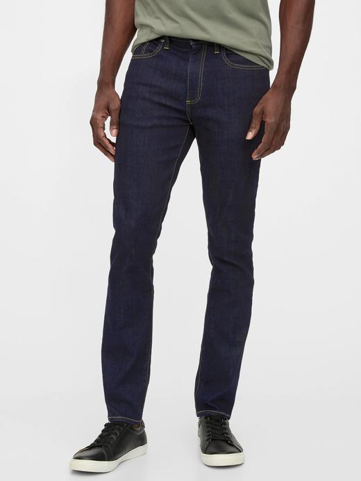 Erkek Mavi Washwell™ Skinny Jean Pantolon