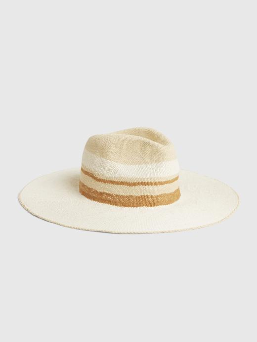 Kadın Kahverengi Sunset Hasır Şapka
