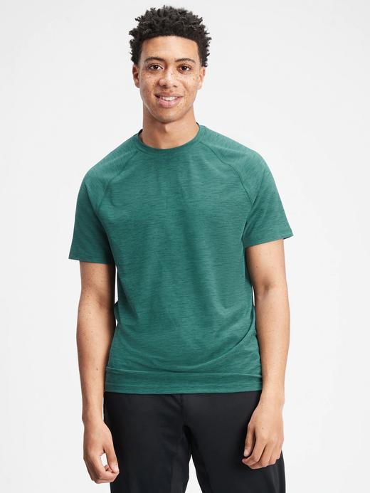 Erkek Yeşil GapFit All Day T-Shirt