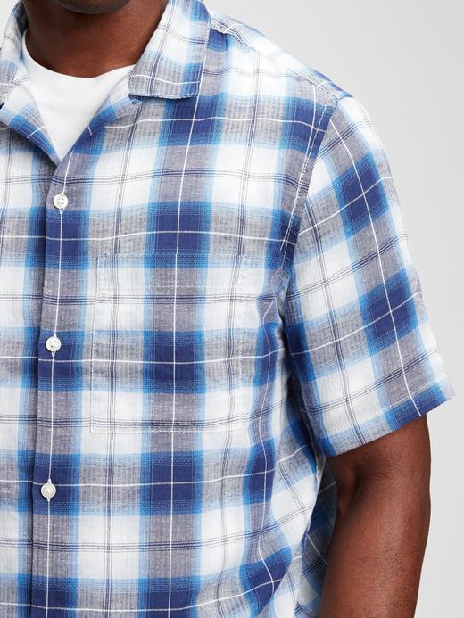 Erkek Mavi Çizgili Gömlek