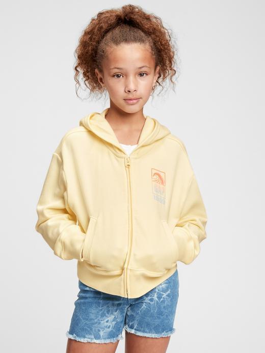 Kız Çocuk sarı Gap Logo  Sweatshirt
