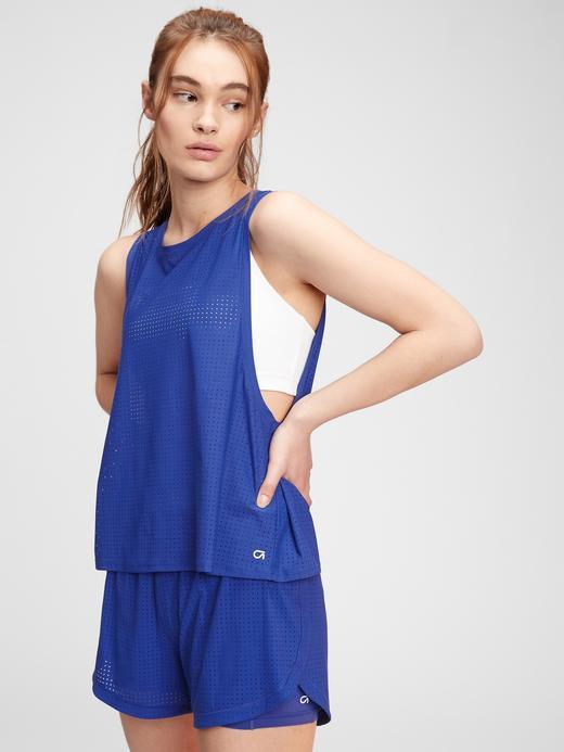 Kadın Mavi GapFit T-Shirt