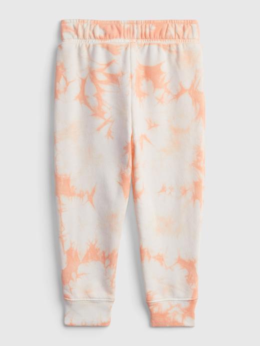 Kız Bebek Turuncu Gap Logo Tie-Dye Pull-On Tayt