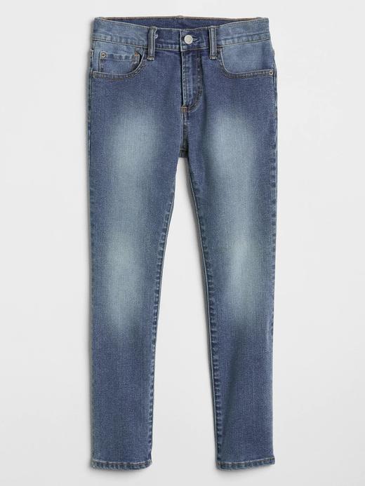 Erkek Çocuk Lacivert Skinny Jeans Washwell™ Pantolon