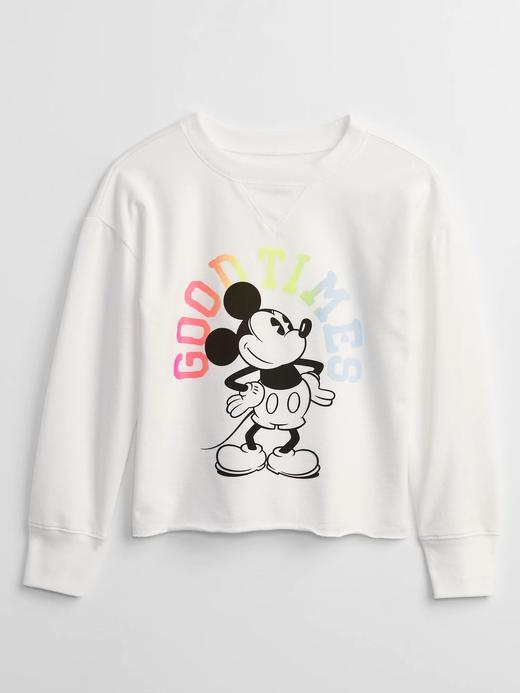 Kız Çocuk Beyaz Disney Minnie Mouse Sweatshirt